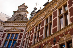 Academiegebouw detail