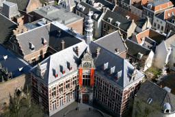 Academiegebouw top view